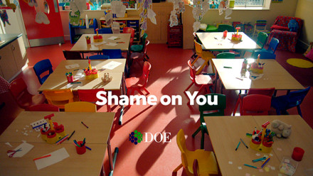DOE Road Safety 'Shame On You'
