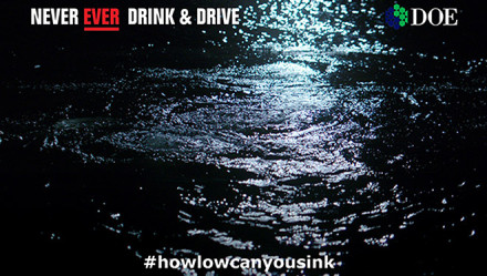 DOE Road Safety Anti Drink Driving TV campaign
