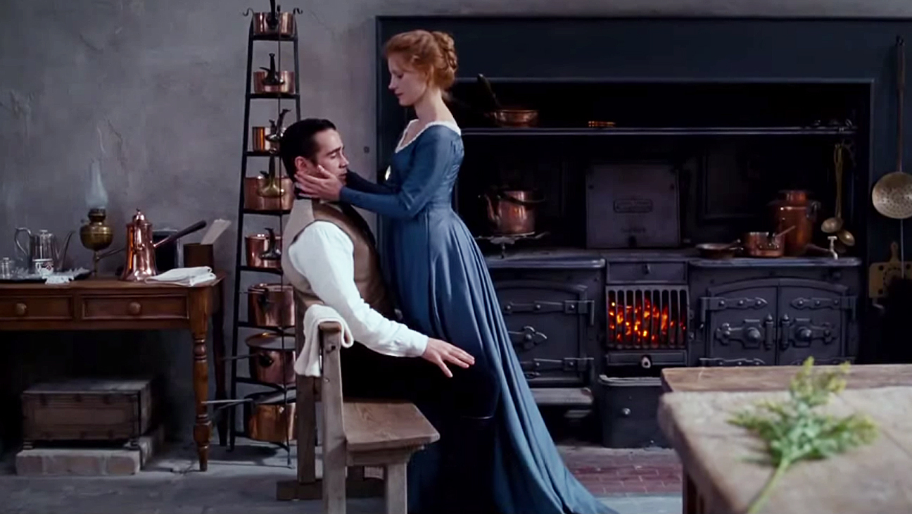 MISS JULIE Colin Farrell, Jessica Chastain